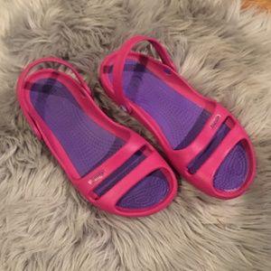 Crocs Cleo II Sandal Pink Purple 9